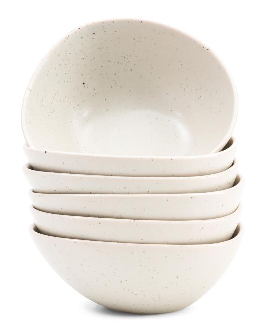 FORTESSA TABLEWARE SOLUTIONS 6pk Cairn Oval Bowl Set $39.99