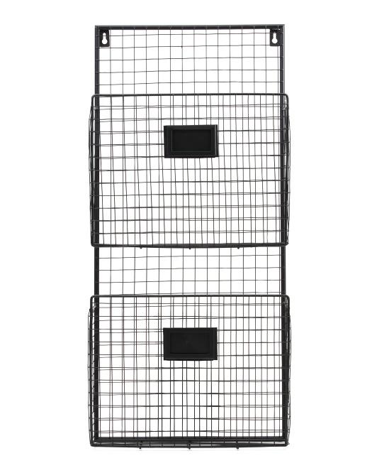 DESIGN STYLES 2 Pocket Metal Wall Holder $19.99