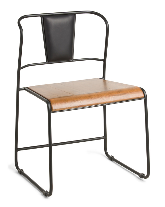 MAGNOLIA HOME Wood And Metal Dining Chair $129.99