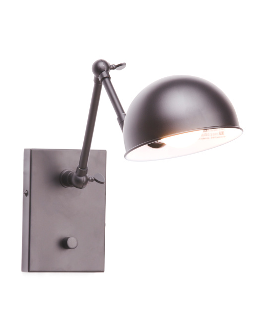 ADESSO Metal Sconce $29.99