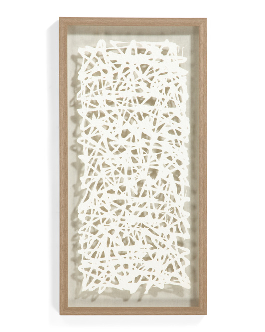 AUTHENTICA 15x30 Floating Paper Shadow Box $49.99