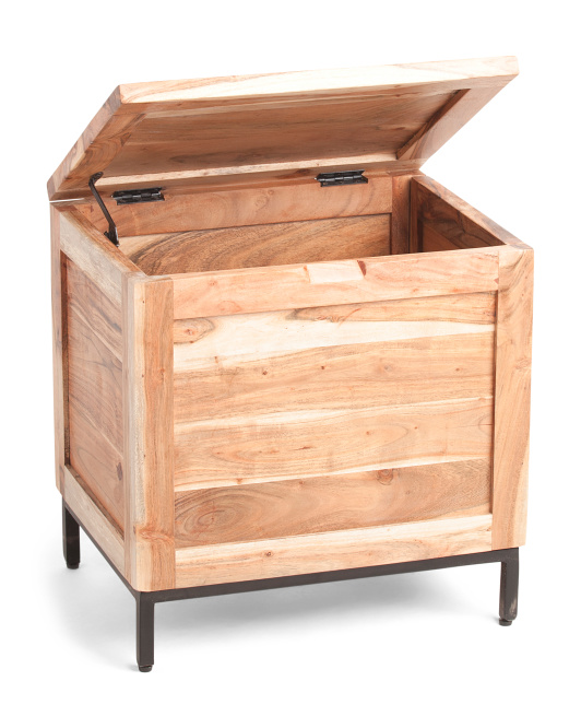 HANDCRAFTED IN INDIA Mini Storage Trunk $59.99