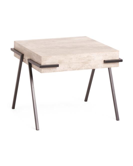 SAFAVIEH Jett Square Accent Table $99.99