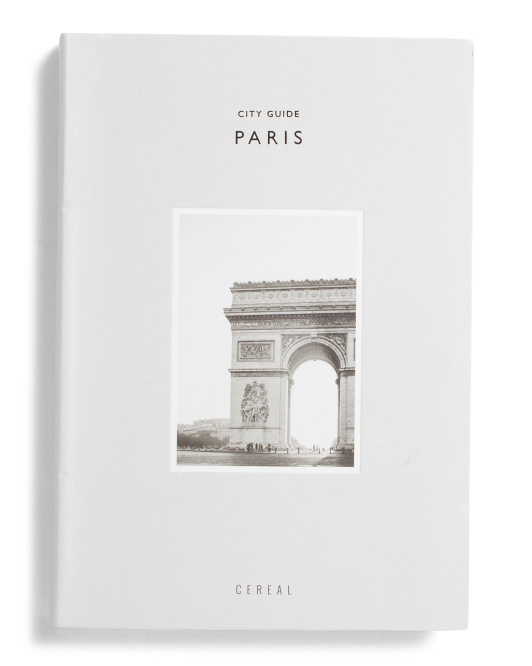 ABRAMS Cereal City Guide Paris $12.99
