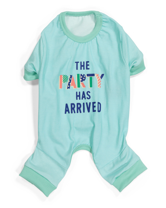 HOTEL DOGGY The Party Has Arrived Pet Pajamas $7.99 — $9.99