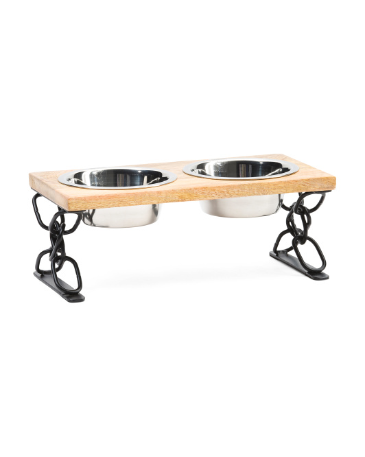 INDIPETS Elevated Modern Pet Feeder$16.99 — $24.99