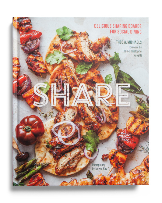 RYLAND PETERS & SMALL Share Delicious Sharing Boards For Social Dining $9.99