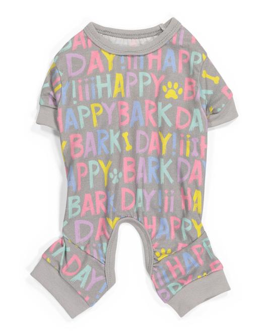 HOTEL DOGGY Happy Birthday Pet Pajamas $7.99 — $9.99