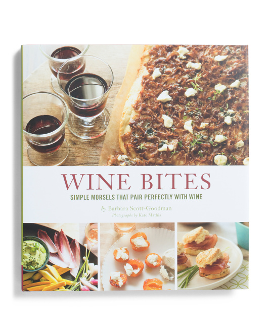 CHRONICLEWine Bites Cookbook $12.99