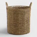 Natural Seagrass Trista Tote Basket $19.99