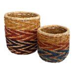Multicolor Zigzag Zena Basket $34.99 - $49.99