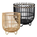 Rattan Brenna Basket With Feet $39.99 - $49.99
