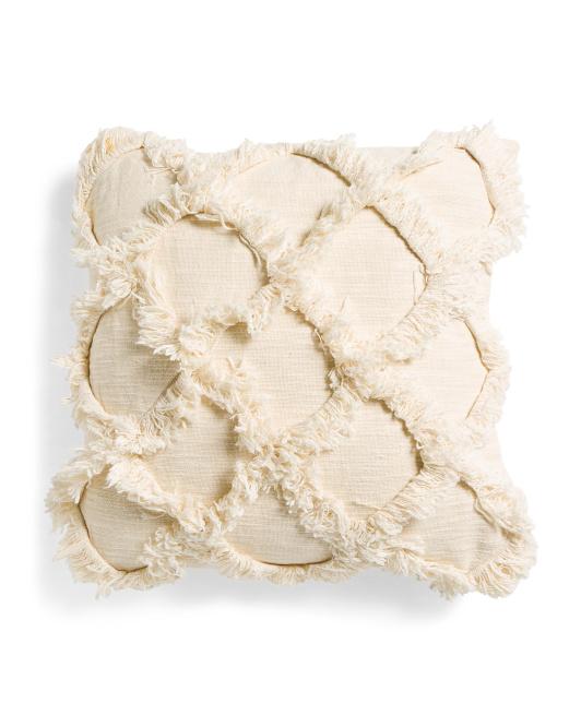 LUSH DECOR 20x20 Linen Look Pillow $19.99