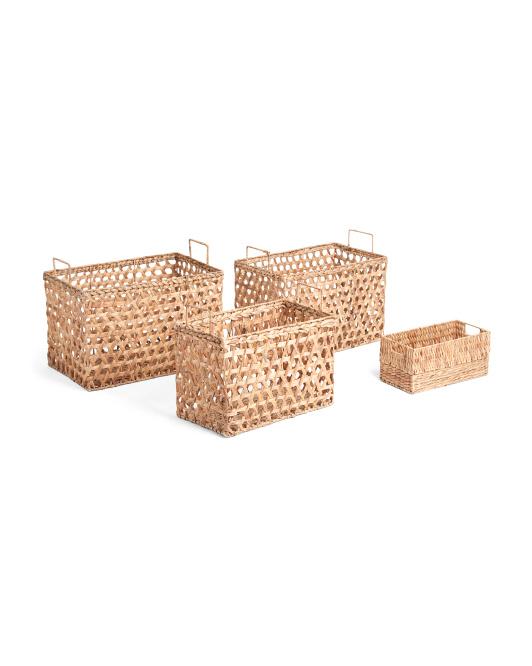 RGI HOMECane Weave Water Hyacinth Basket Collection$16.99 — $29.99