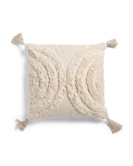 YO TREASURE 20x20 Tufted Pillow $19.99