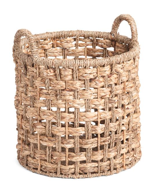VIETNAM STORAGE Small Round Seagrass Braid Basket $14.99