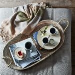 Handwoven Natural Seagrass Basket Tray $60–$90