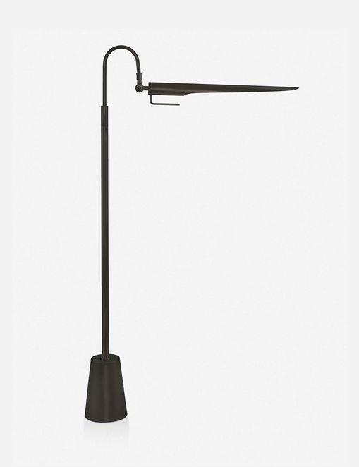 REGINA ANDREW RAVEN FLOOR LAMP, OIL RUBBED BRONZE $525