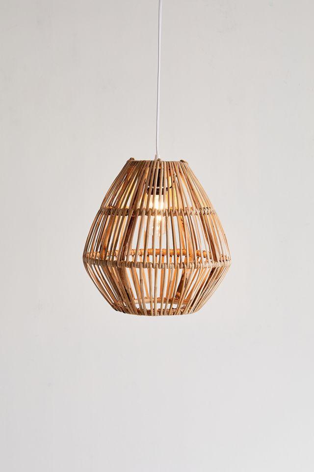 Bamboo Woven Pendant Light $89.00