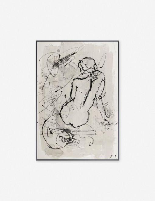 \'FIGURE OF EBBA\' WALL ART $359.00