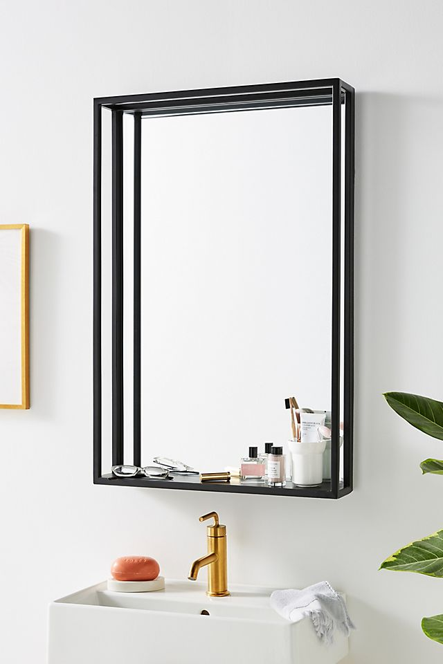 Titus Shelved Mirror $448.00 https://fave.co/39uIbDL
