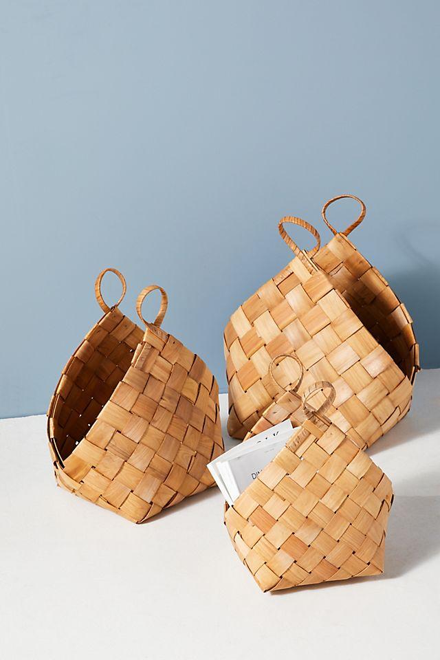Corena Woven Baskets, Set of 3 $158.00 https://fave.co/3uQ6kOd