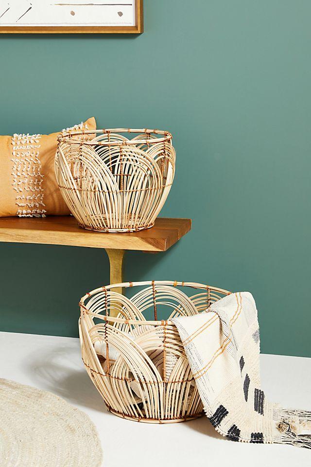 Looped Rattan Baskets, Set of 2 $128.00 https://fave.co/3kKCCpq