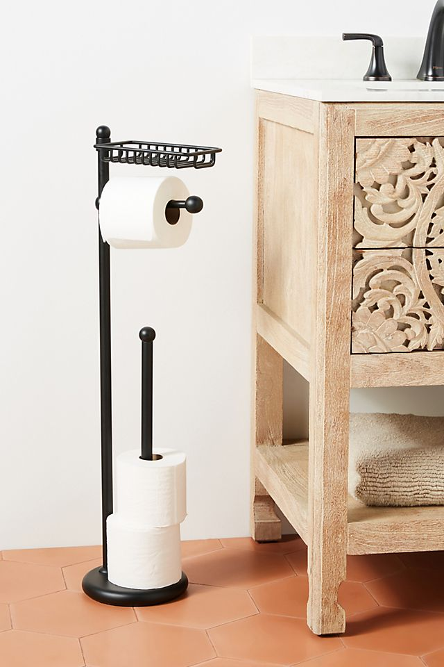 Maison Toilet Paper Holder and Tray $178.00