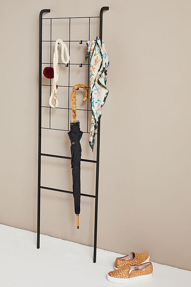 Steel Grid Leaning Storage Ladder $108.00