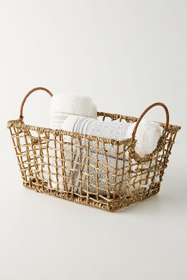 Woven Seagrass Basket $48.00