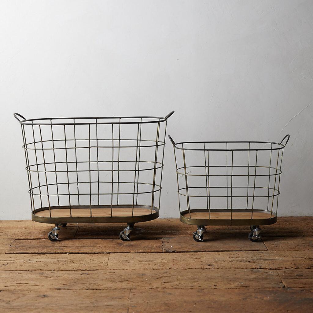 Rolling Laundry Basket $168.00–$228.00
