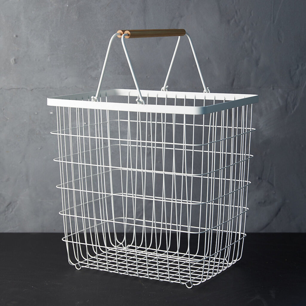 Wire Laundry Basket $78.00–$88.00