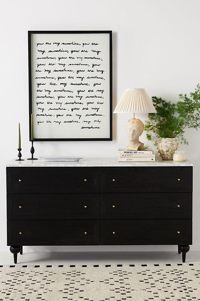 Fern Six-Drawer Dresser $2,298.00