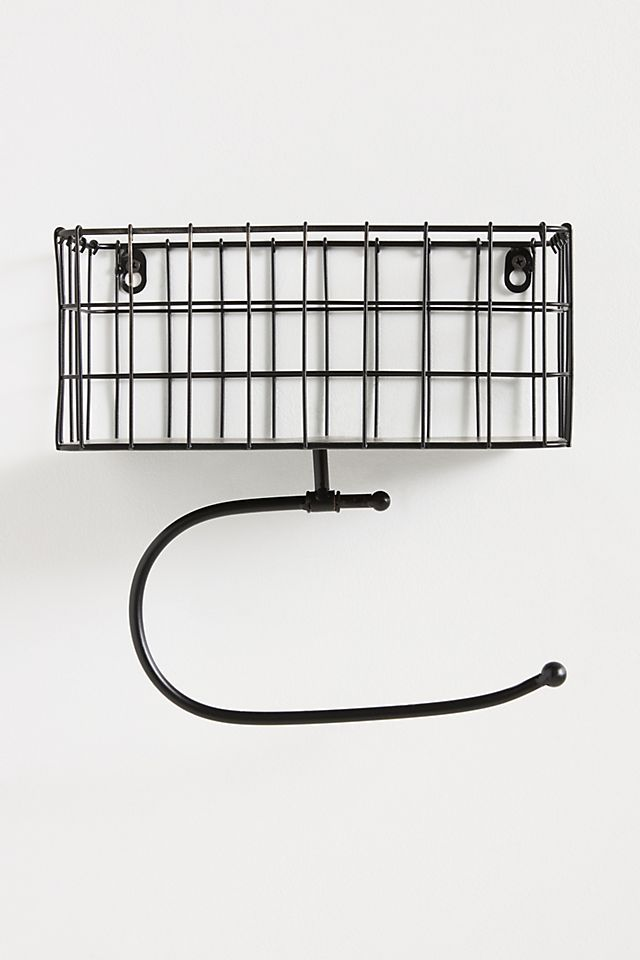 Piper Magazine and Toilet Paper Holder $38.00