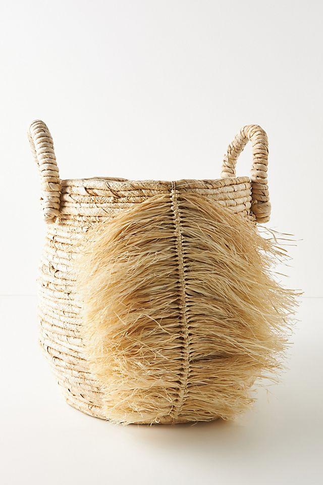 Fonda Fringed Basket $108.00