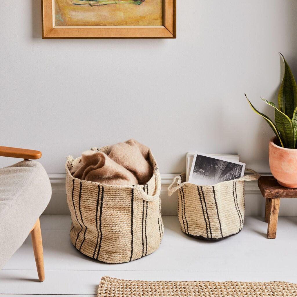 Handwoven Artisan Nesting Baskets $160–$500 https://fave.co/3rgKocN