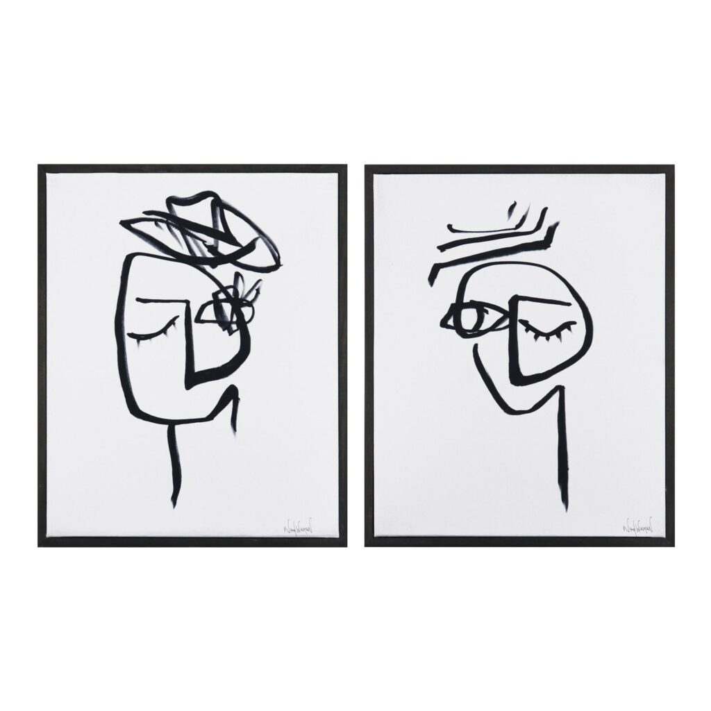 Expressions 4 & 5 By Nikol Wikman Framed Wall Art 2 Piece $99.99 https://fave.co/2PDBKHw