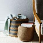 Handwoven Jute Basket $32–$132