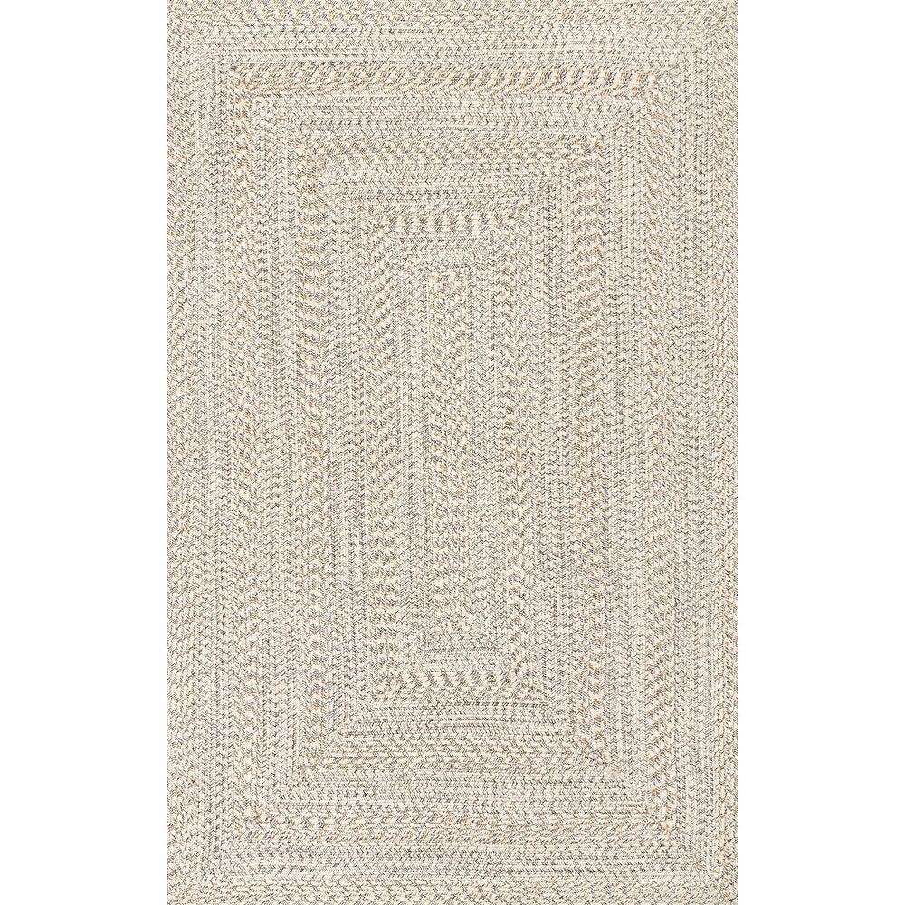 nuLOOM Braided Texture Indoor/ Outdoor Solid Area Rug $123.71
