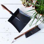 Vintage-Inspired French Exterior Brush & Dustpan Set $82