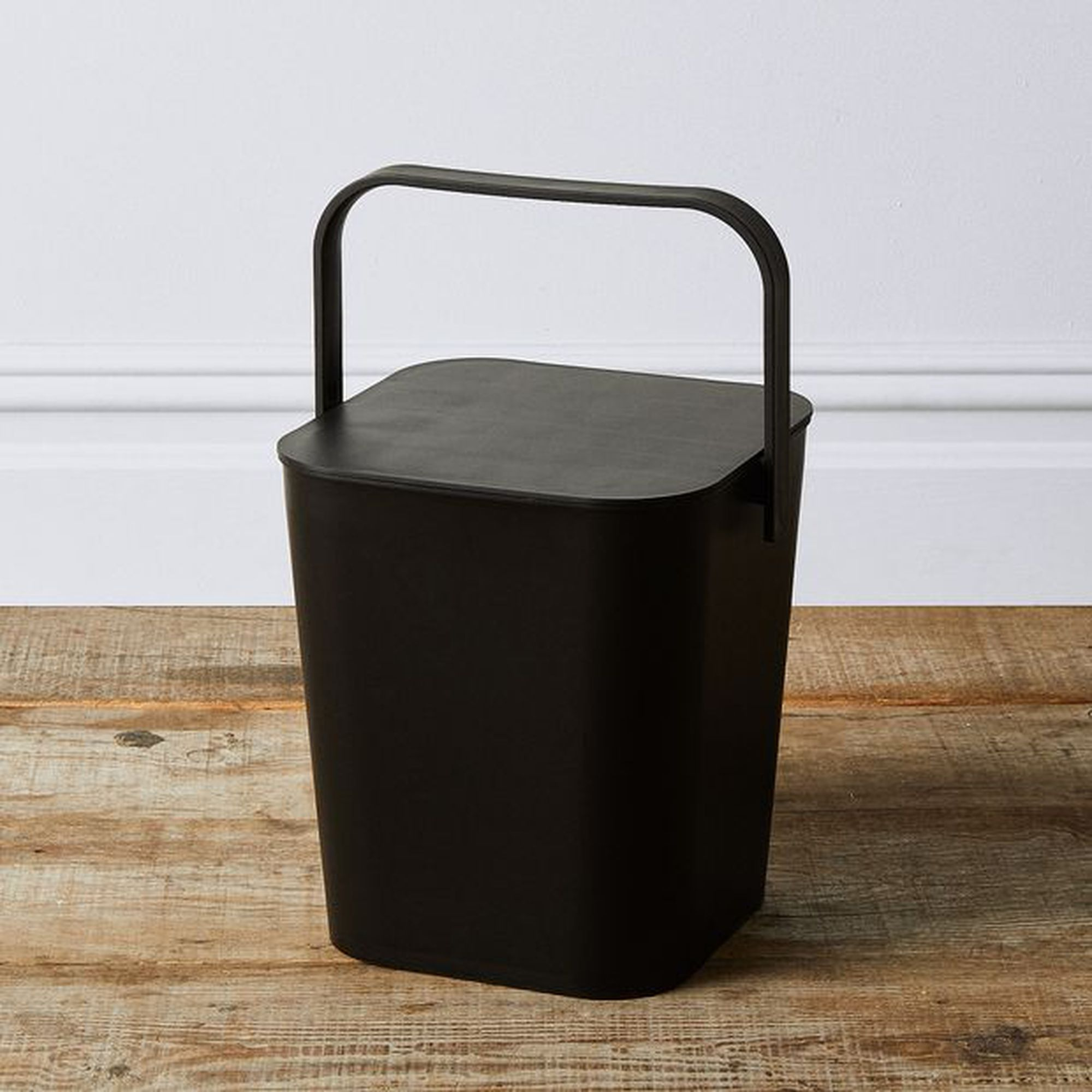 Modern Storage Bin with Lid $34