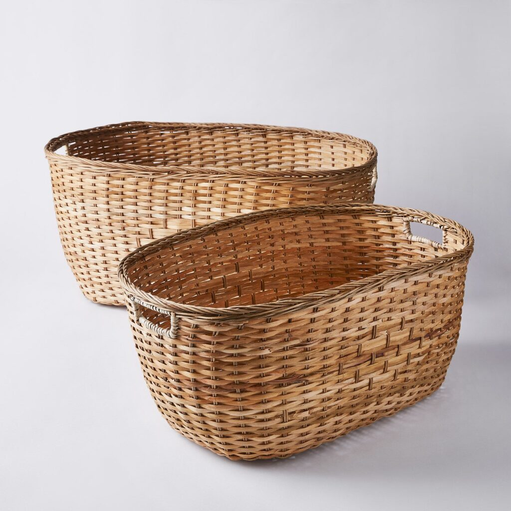 Handmade Tuscan Laundry Basket $65–$85 https://fave.co/3sNK0mz
