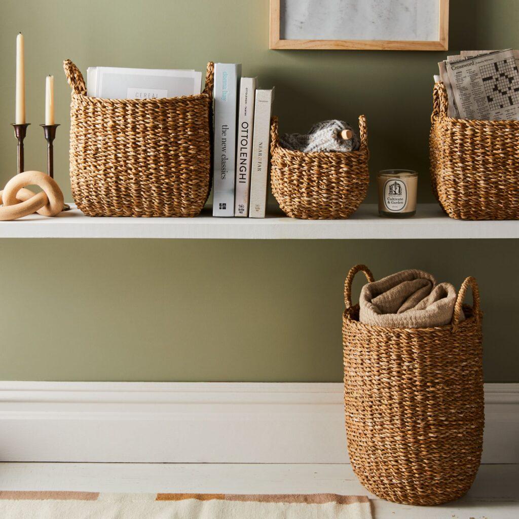 Handwoven Jute Nesting Storage Baskets $24–$96 https://fave.co/3qcseaN