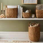 Handwoven Jute Nesting Storage Baskets $24–$96