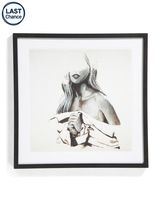 PICTURE DEPOT 30x30 B&w Beauty Wall Art $59.99