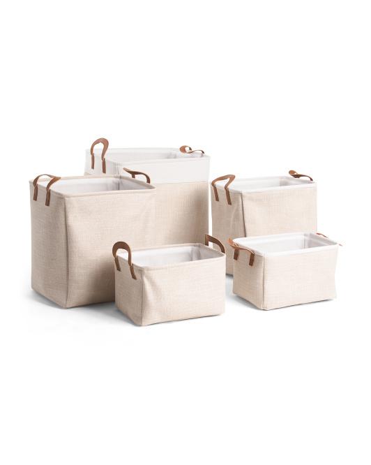 RGI Tweed Rectangular Basket Collection $7.99 — $16.99