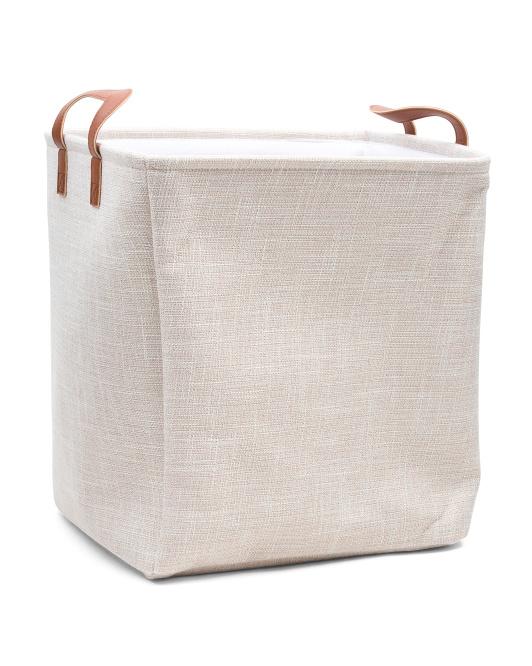 RGI Large Tweed Rectangular Basket $14.99 h