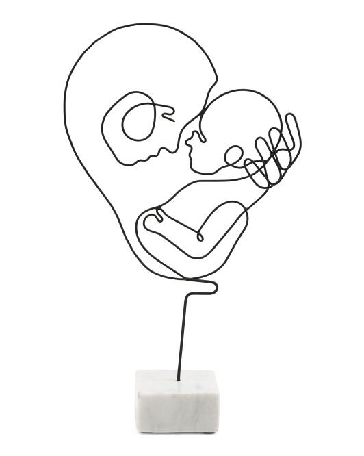 BREWSTER Maranda Mother Child Figurine $16.99