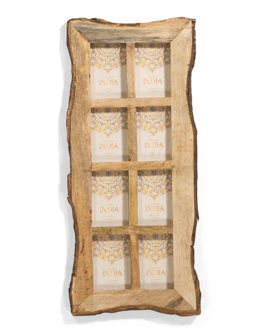 MADE IN INDIA 4x6 Matted Natural Picture Frame $19.99