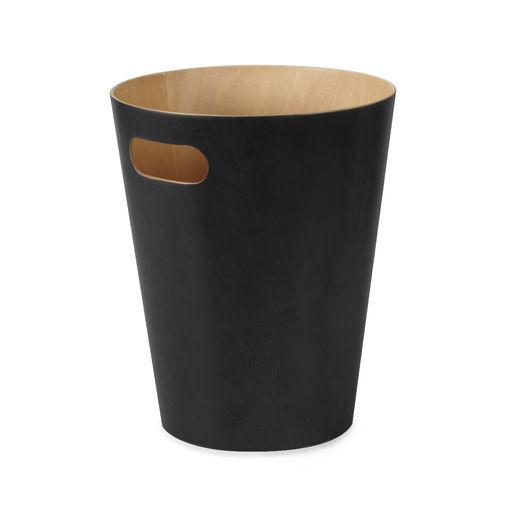 ZAILIE TRASH CAN, BLACK $33.00